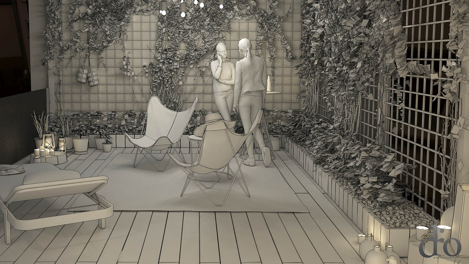Photomontage with 3ds max and photoshop - Innenarchitektur hannover ...